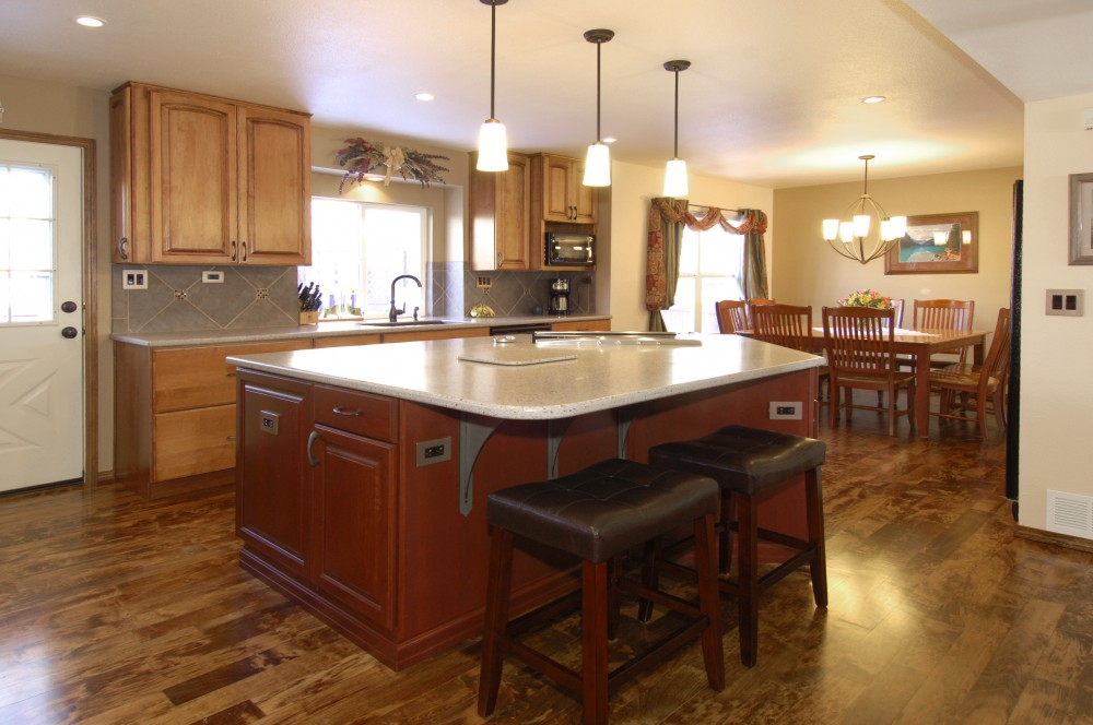 Photo By DreamMaker Of Colorado Springs. Kitchens