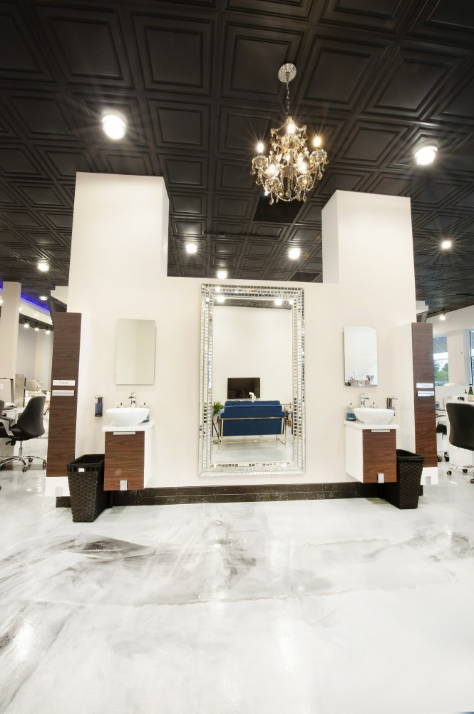 Photo By Pat Scales Remodeling. Allure Nail Studio