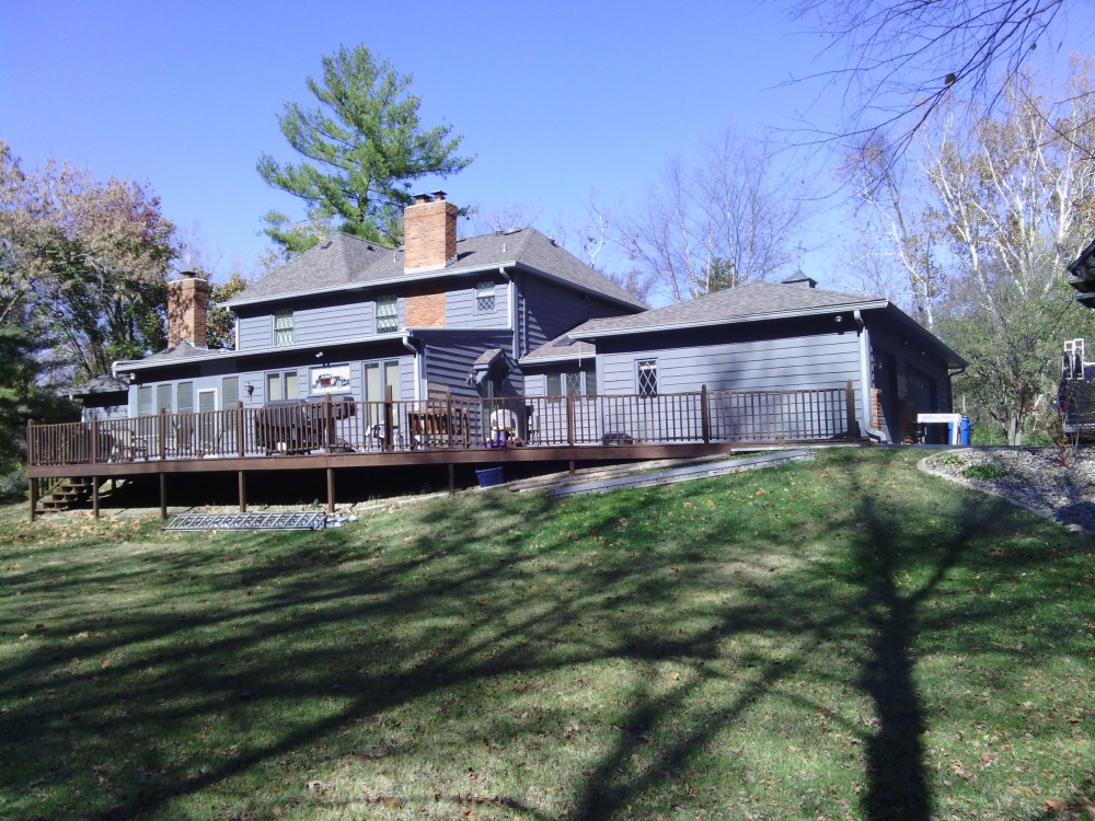 Photo By STL Siding Pros. Siding - Before And After - Frontenac