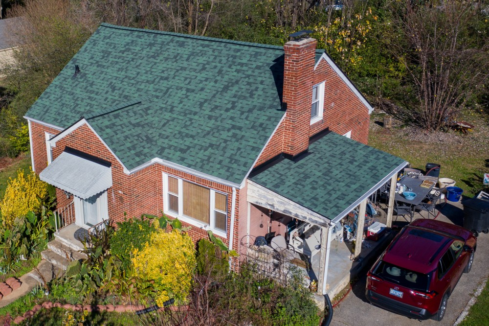 Photo By Cenvar Roofing. Green