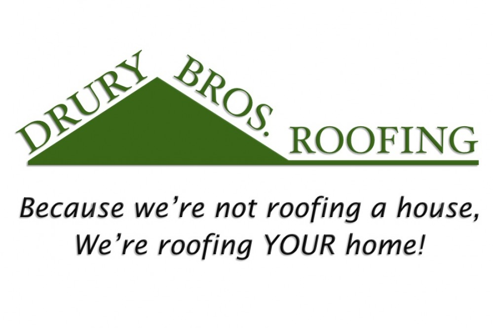 Photo By Drury Bros. Roofing. Logo