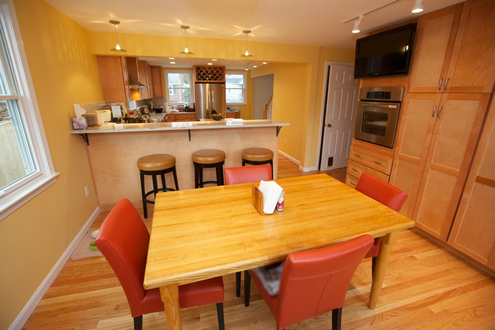 Photo By New England Design & Construction. Kitchen And Dining Room Remodel