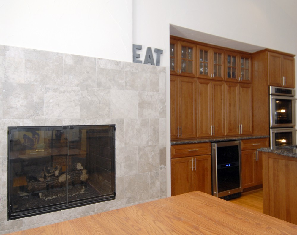 Photo By Kirkpatrick's Construction. Refreshing Kitchen Remodel