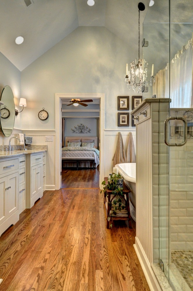 Photo By Stephens Remodeling. Cozy Cottage Bathroom