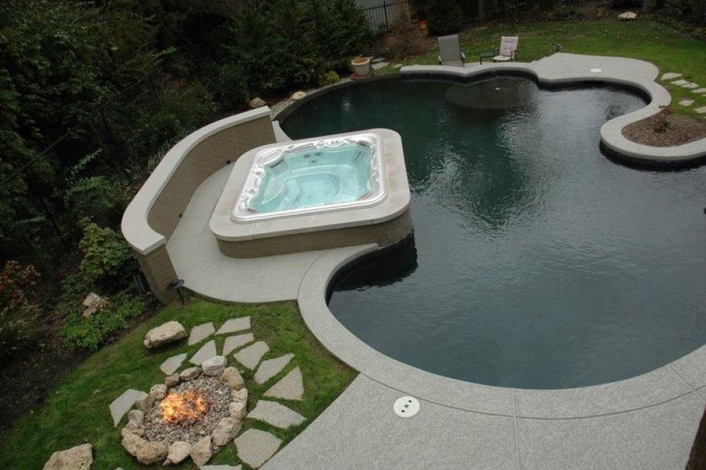 Photo By Baker Pool Construction. Baker Pools