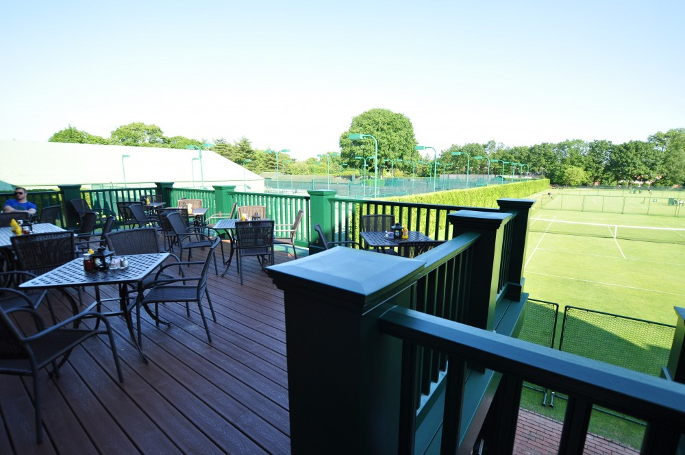 Photo By Total Custom Contractors. Sports Lounge Deck