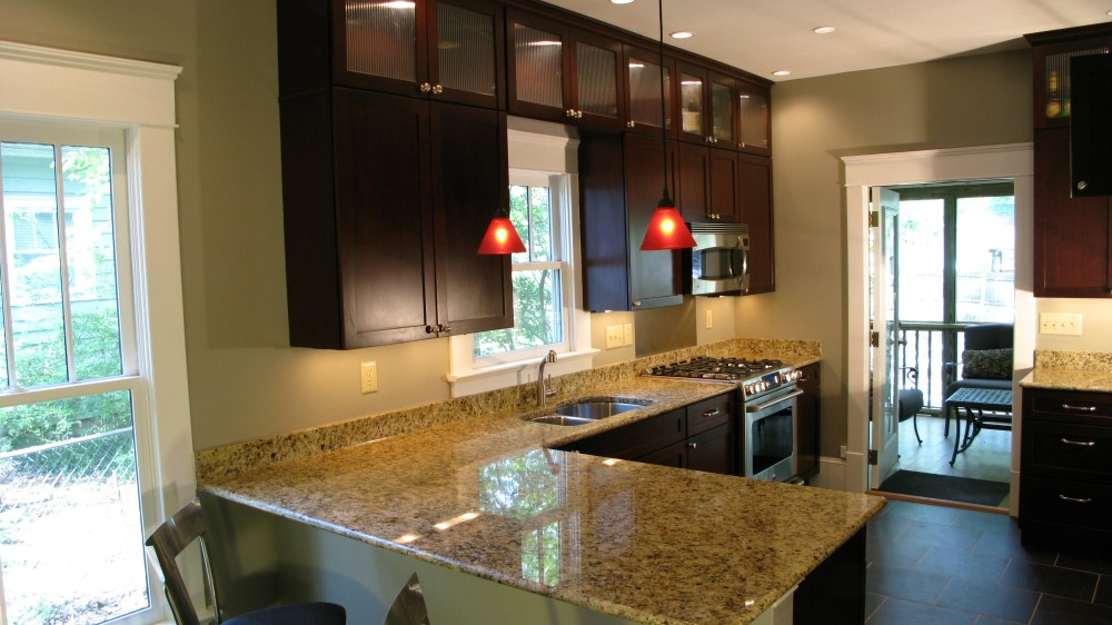 Photo By Windom Construction Co., Inc.. Remodel 1930 Whole House, Contemporary Kitchen & Bath