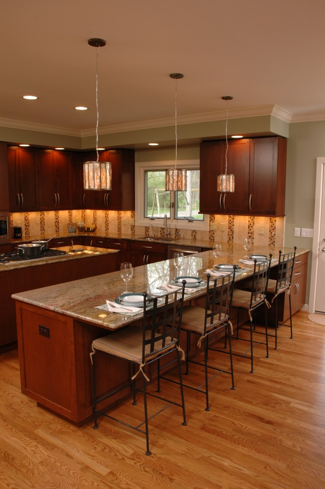 Photo By Neal's Design Remodel. Kitchens
