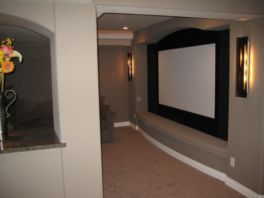 Photo By Aspen Basement Company. Aspen Basement Company - Home Theaters Photos