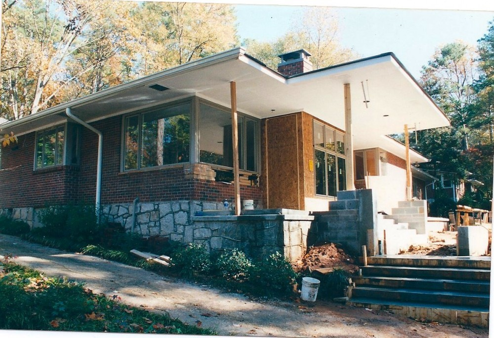 Photo By Windom Construction Co., Inc.. Remodel 1950 Ranch To Plain Style