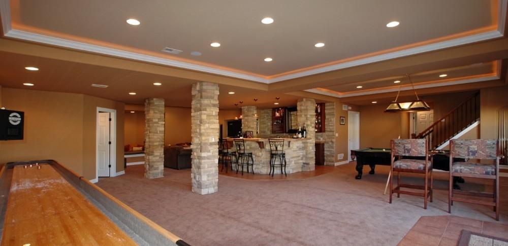 Photo By Aspen Basement Company. Aspen Basement Company - Game Room Photos