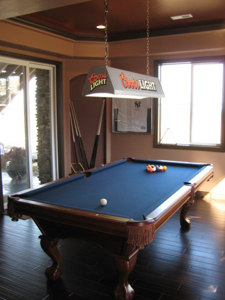 Photo By Aspen Basement Company. Aspen Basement Company - Game Room Photos
