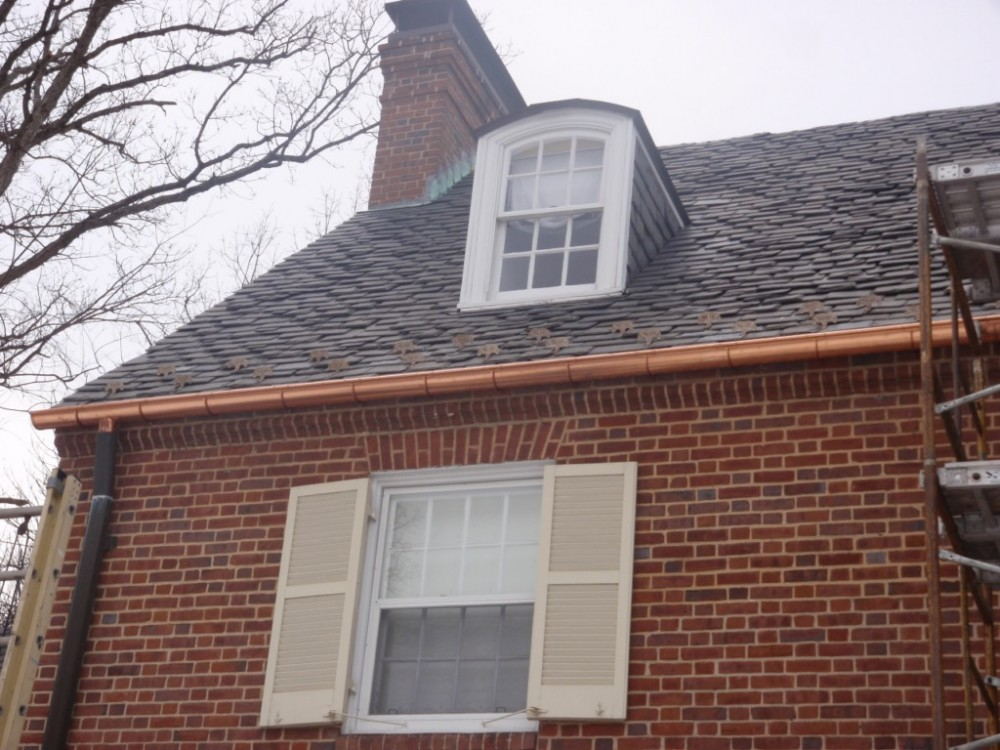 Photo By Fick Bros. Roofing & Exterior Remodeling Company. Burnett - Gutters, Snow Guards & EPDM Roof