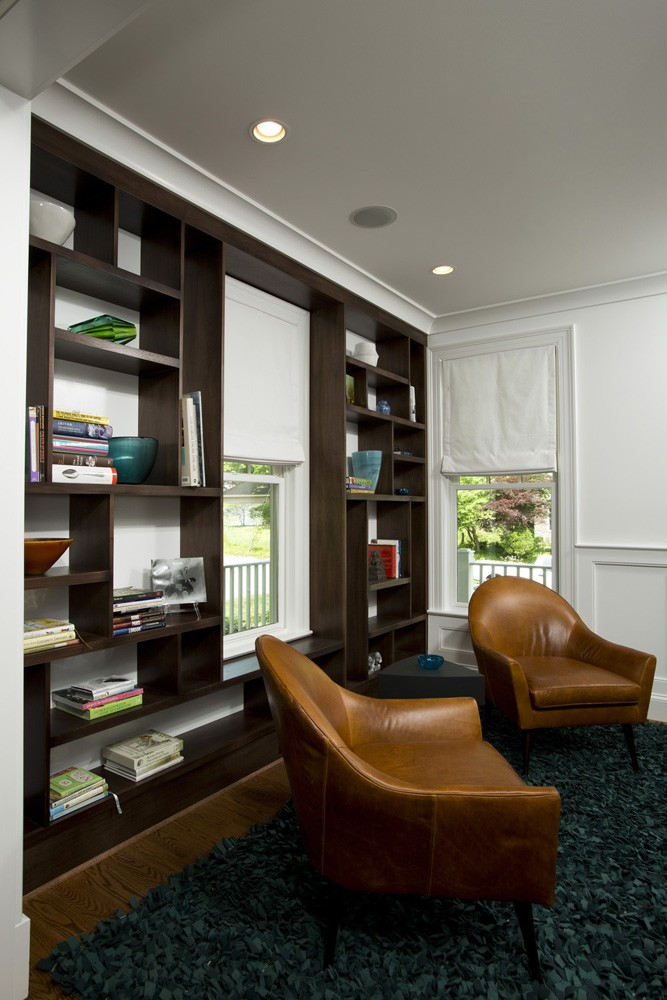 Photo By Landis Architects/Builders. Mondrian Inspired Custom Cabinets In Bethesda, MD Home