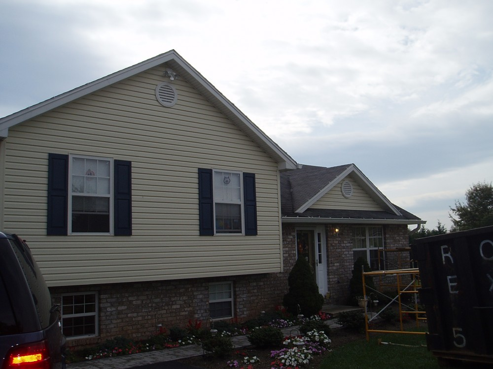 Photo By Fick Bros. Roofing & Exterior Remodeling Company. Roof Donation - Mickey Lippy Family