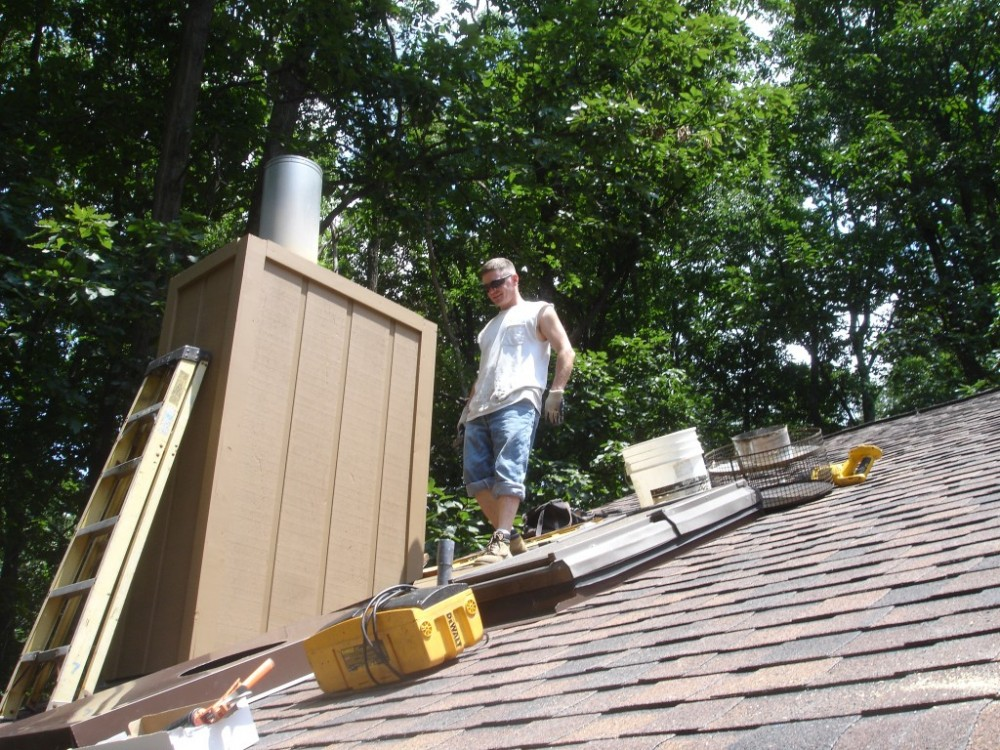 Photo By Fick Bros. Roofing & Exterior Remodeling Company. Sussman - Asphalt Shingles & Deck
