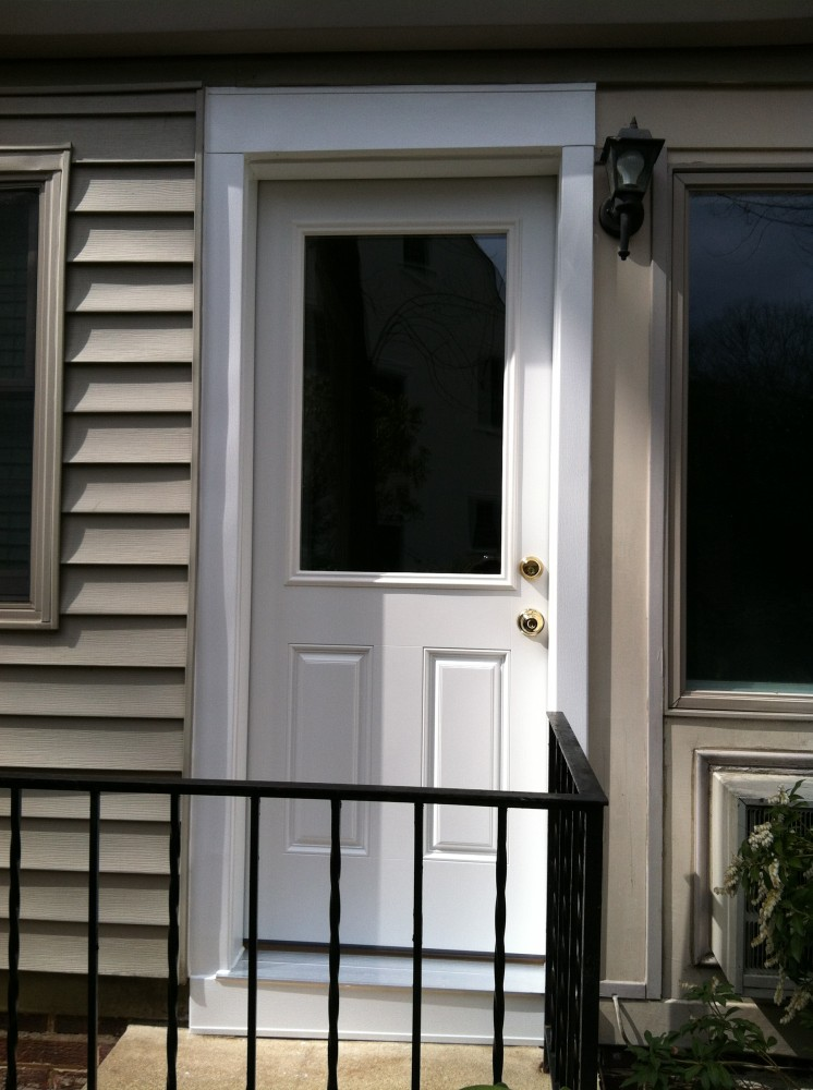 Photo By Nova Exteriors Inc.. Door Installation Pics