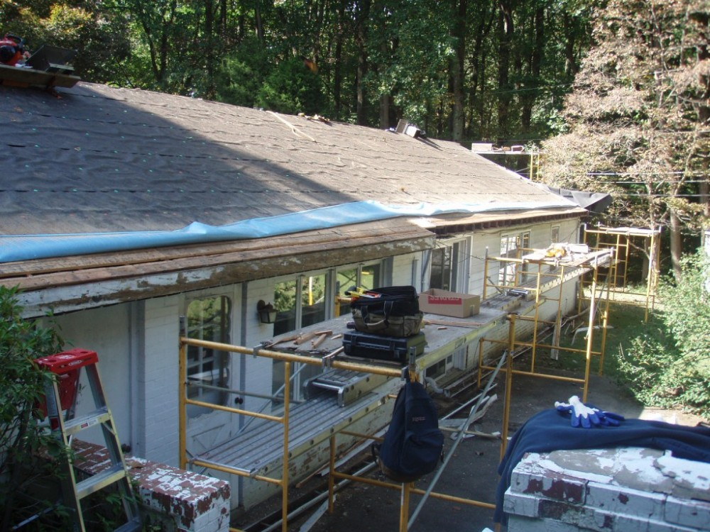 Photo By Fick Bros. Roofing & Exterior Remodeling Company. Stalmeyer - Ashpalt Shingles/Rebuild Chimneys