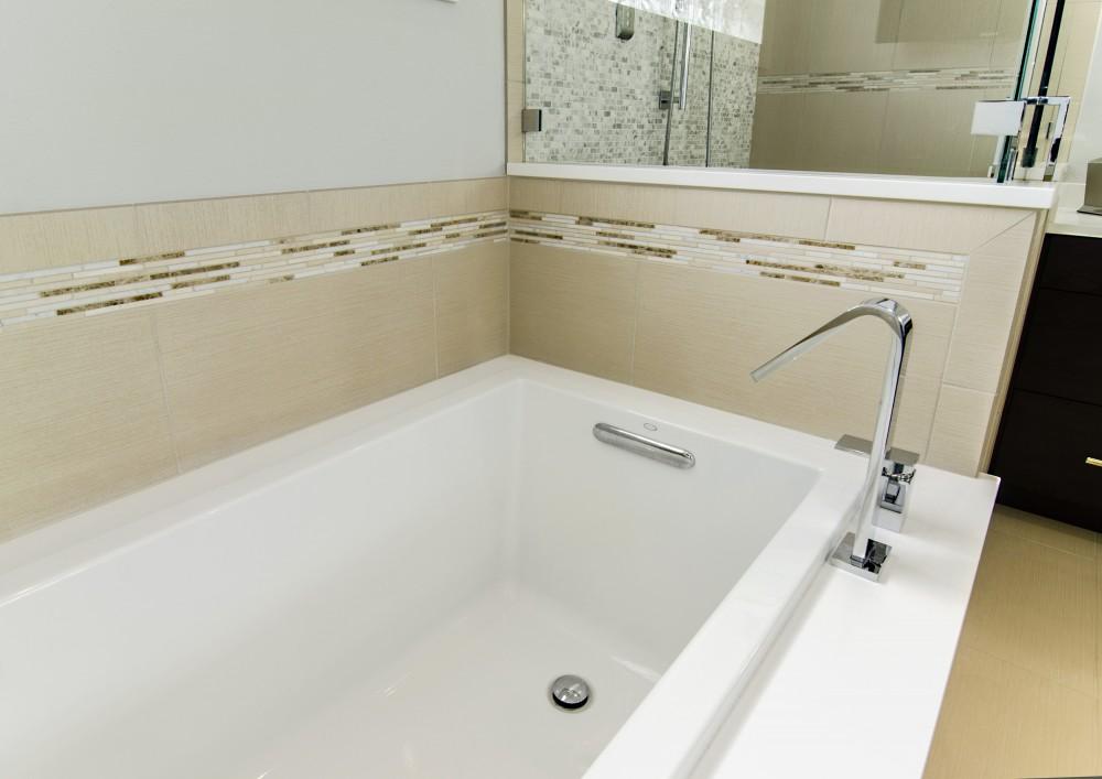 Photo By Hatfield Builders & Remodelers. Bush Master Bathroom