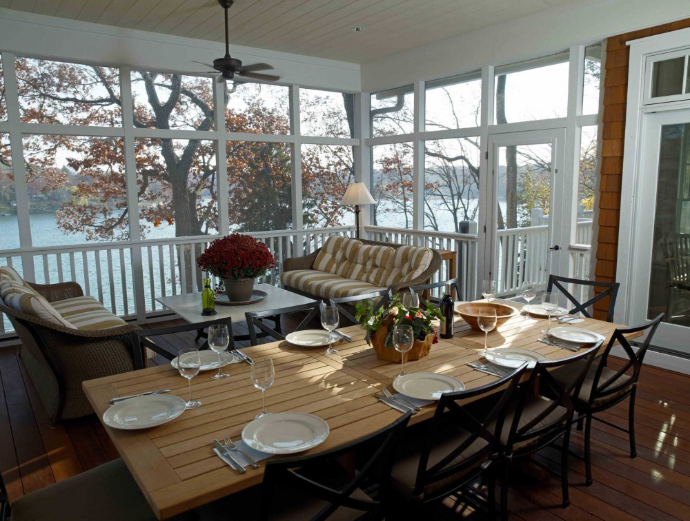 Photo By Thelen Total Construction Inc. Classic Lakeside Cottage