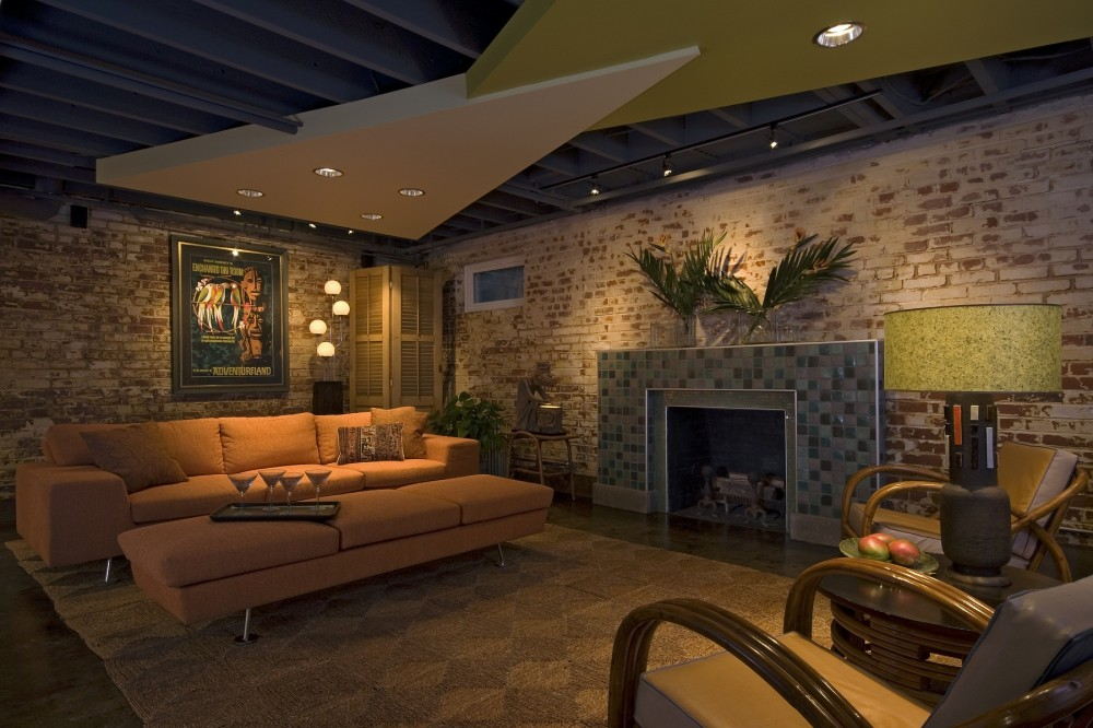 Photo By Cabinetry & Construction, Inc.. Multiple National Award-winning Basement