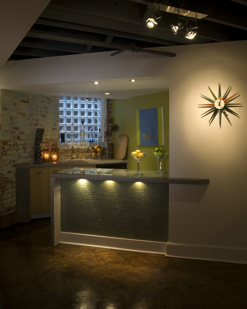 Photo By Cabinetry & Construction Inc.. Multiple National Award-winning Basement