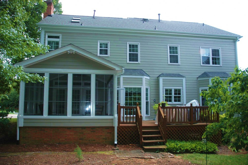 Photo By Southend Home Improvement. James Hardie Fiber Cement Siding