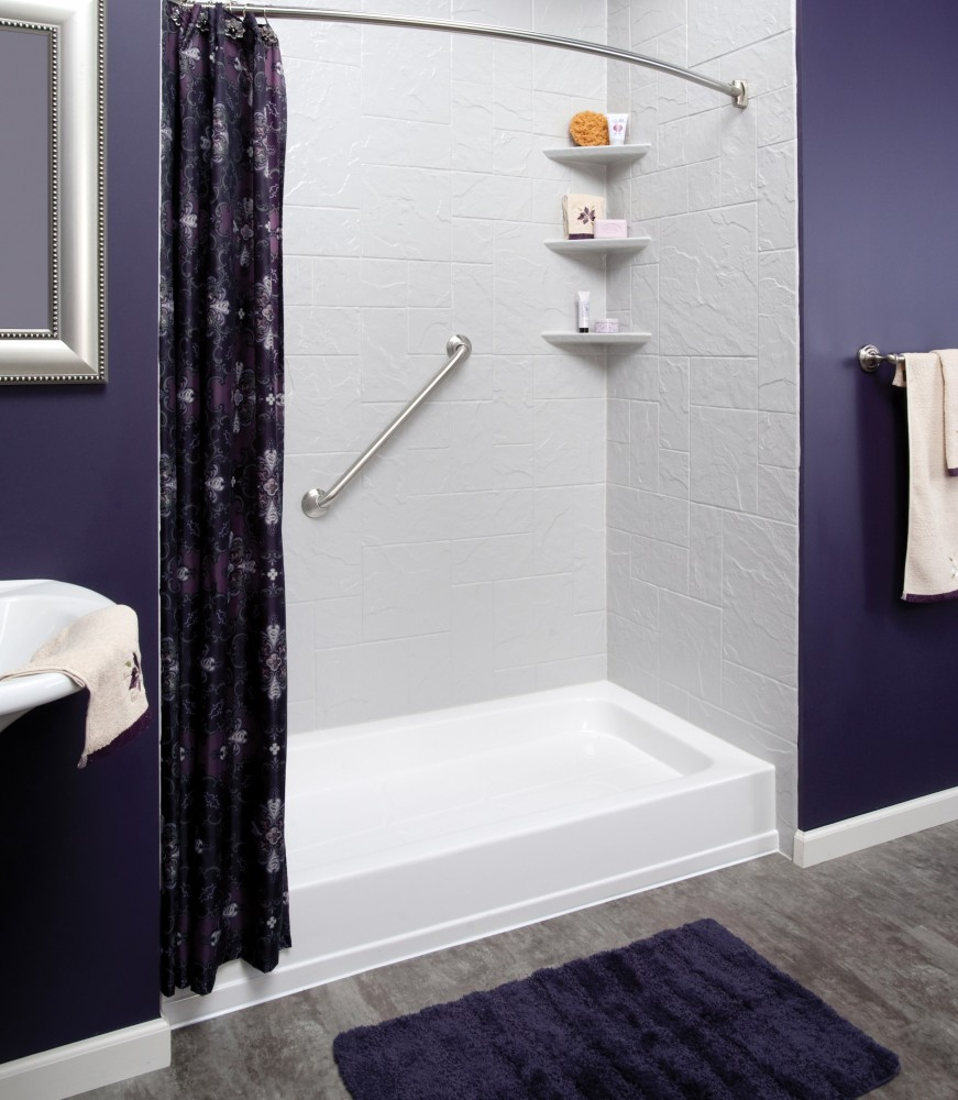 Photo By The Board Store. BATH REMODELS