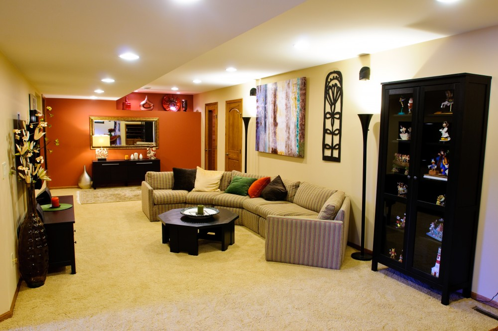 Photo By Reynolds Design And Construction. Maragos Basement Finish And Remodel