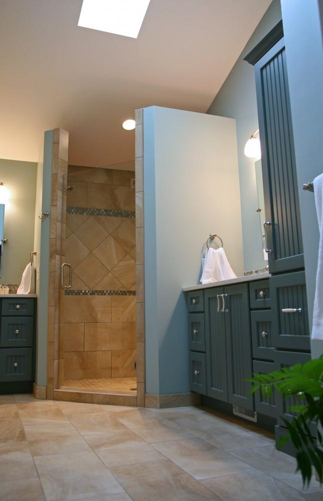 Photo By Stebnitz Builders, Inc. Custom Bath Remodel & Kitchen Remodel Willams Bay