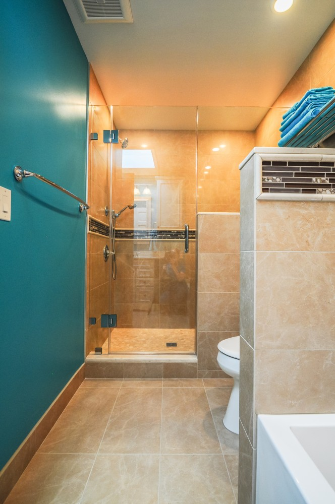 Photo By Hammer Design Build Remodel. Olney, MD 20832: Master Bathroom And Walk-in Closet Remodel.