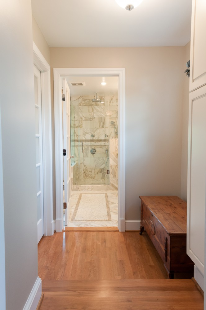 Photo By Hammer Design Build Remodel. Olney, MD 20832:  Spacious Remodel Of A Master Bathroom.