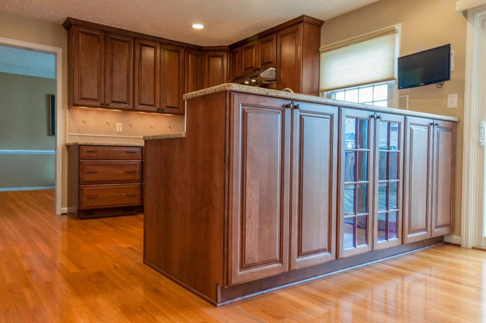 Photo By Hammer Design Build Remodel. Potomac, MD 20878:  Full Kitchen Renovation.