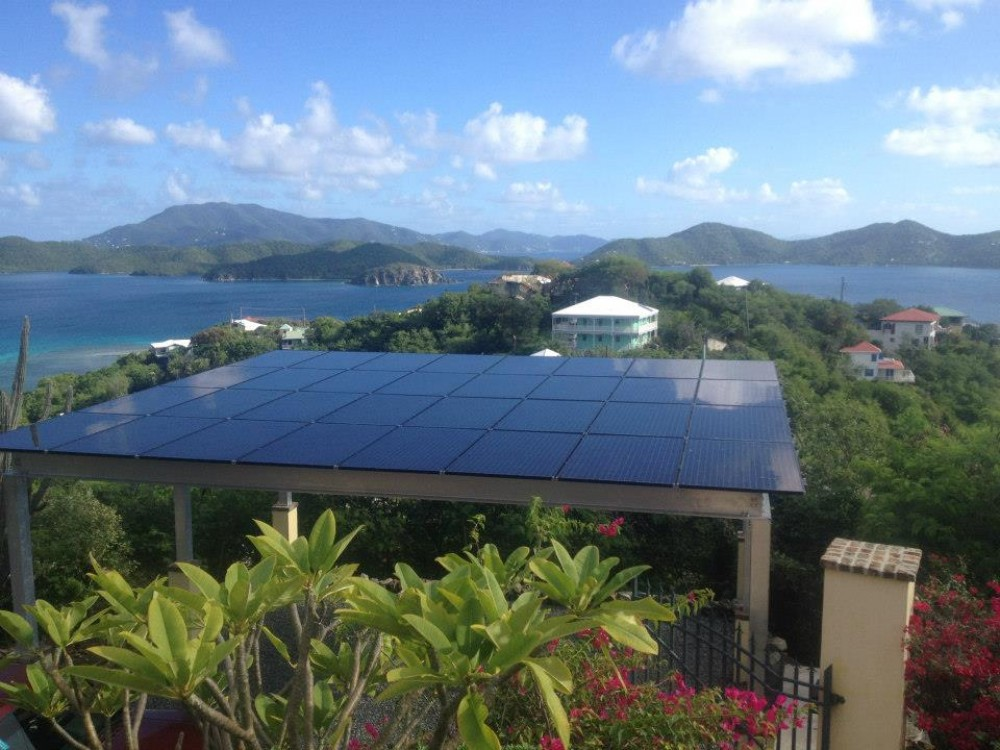 Photo By Caribbean Solar Company LLC. Caribbean Solar