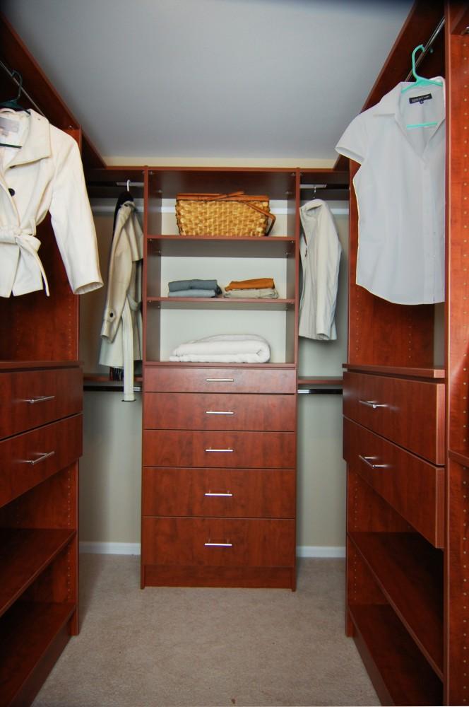 Photo By Closet America. Walk-in Closets