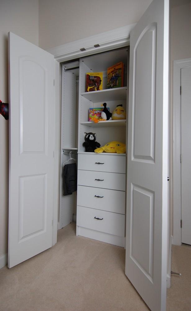 Photo By Closet America. Closets