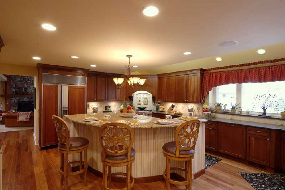 Photo By Airoom Architects, Builders And Remodelers. Kitchen Remodel & Living Room Addition