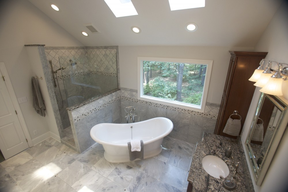 Photo By Wood Wise Design & Remodeling Inc.. Master Bathroom