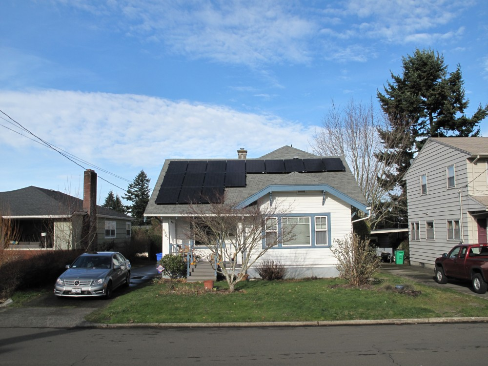 Photo By Sunbridge Solar, LLC. NE Portland Residential