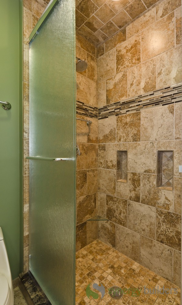 Photo By Synergy Builders. Bathrooms