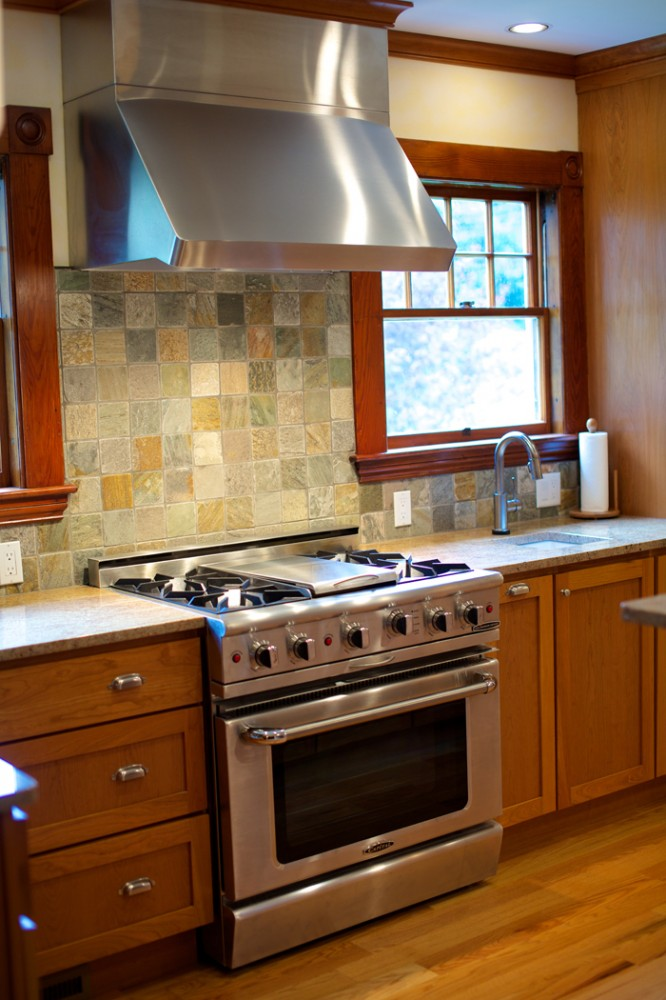 Photo By New England Design & Construction. Beverly Kitchen Remodel