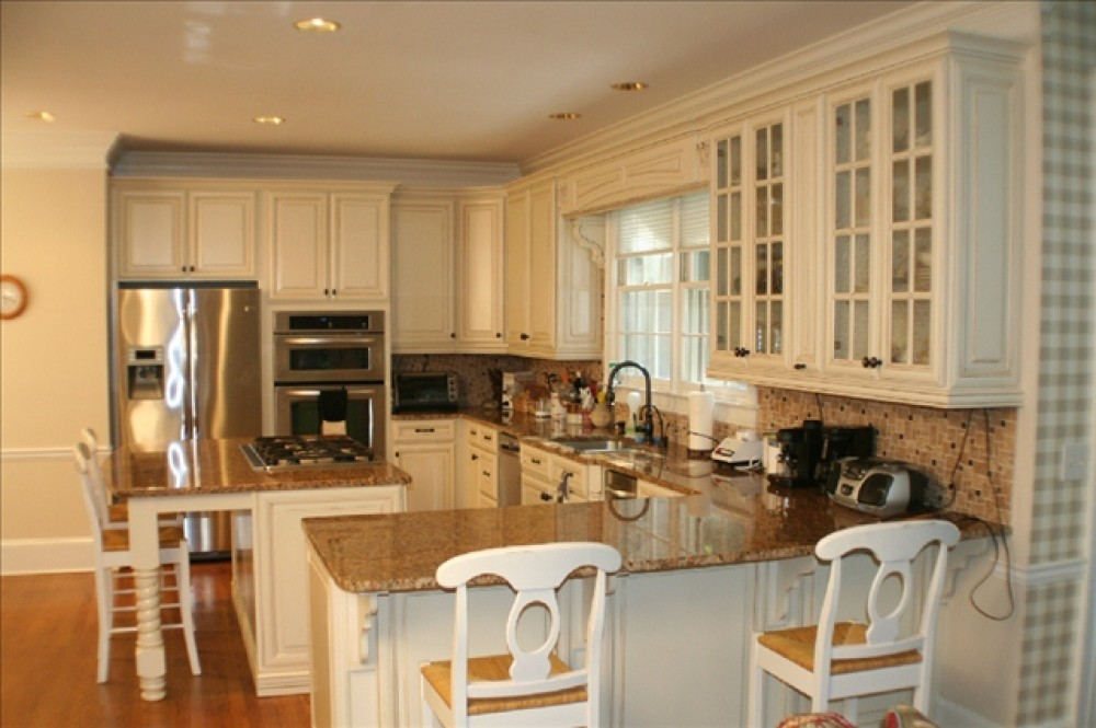 Photo By Bright Ideas Cabinets. Kitchen Cabinetry