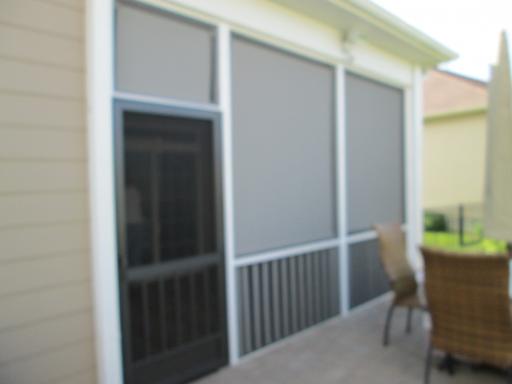 Photo By Kingsford Siding, Windows & Patio Rooms. Before & After
