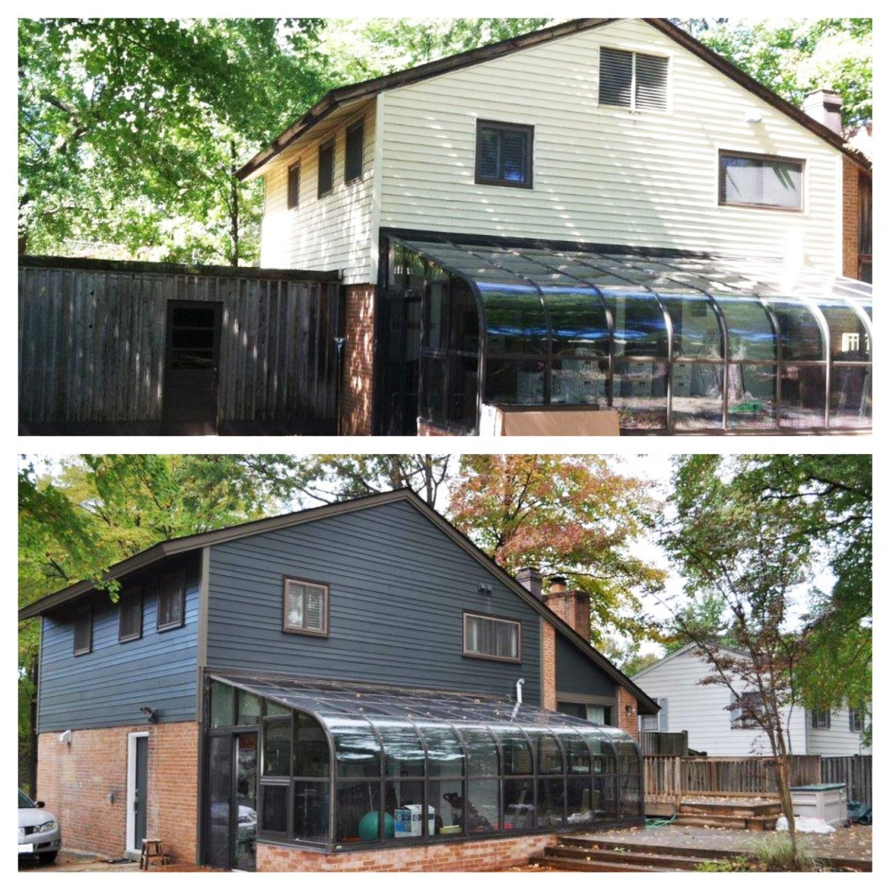Photo By Exterior Medics, Inc.. Before And After Siding Images