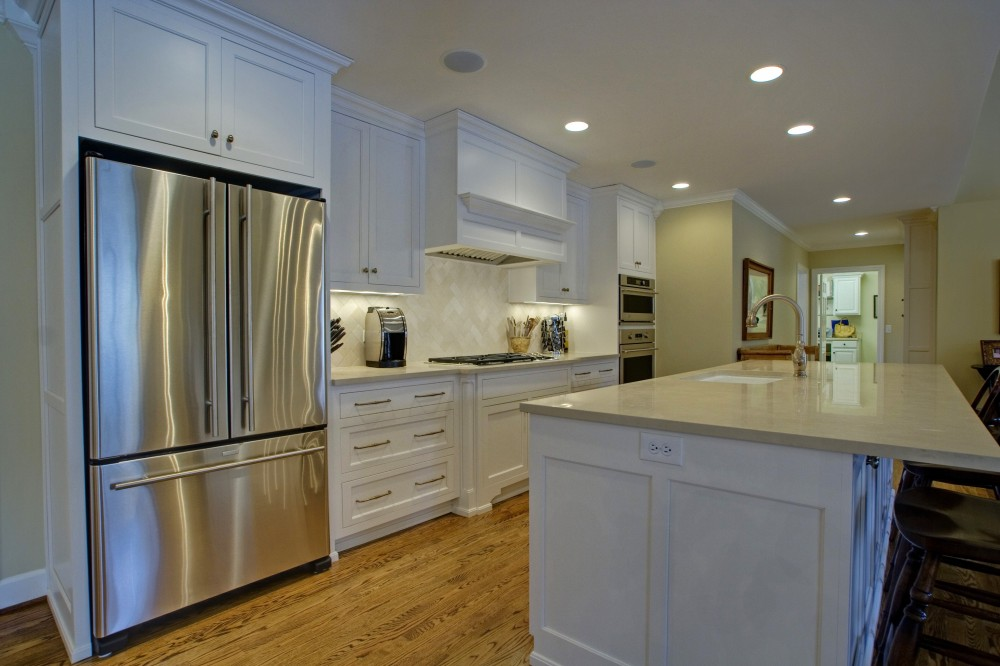 Photo By Broderick Builders. Whole House Remodel