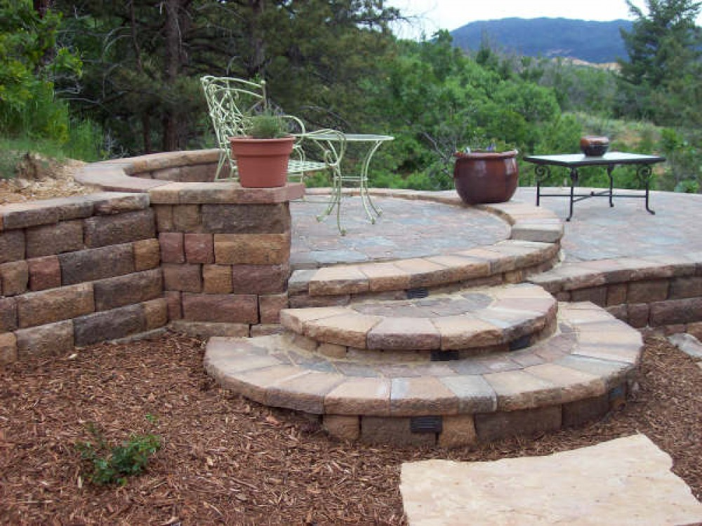 Photo By Genesis Group. Hardscapes