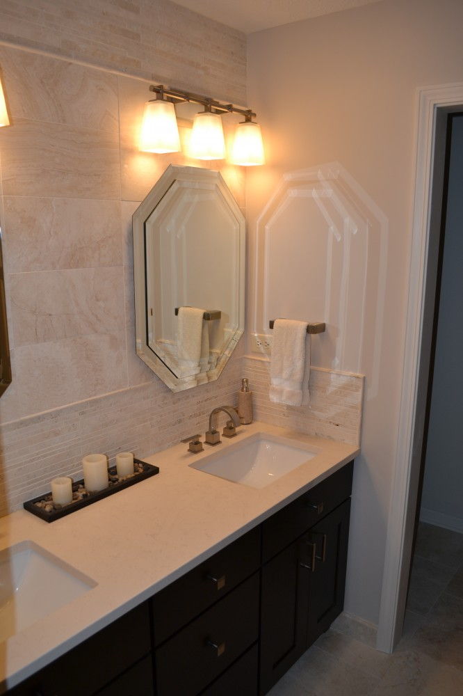 Photo By Gettum Associates, Inc. Master Bathroom Remodel