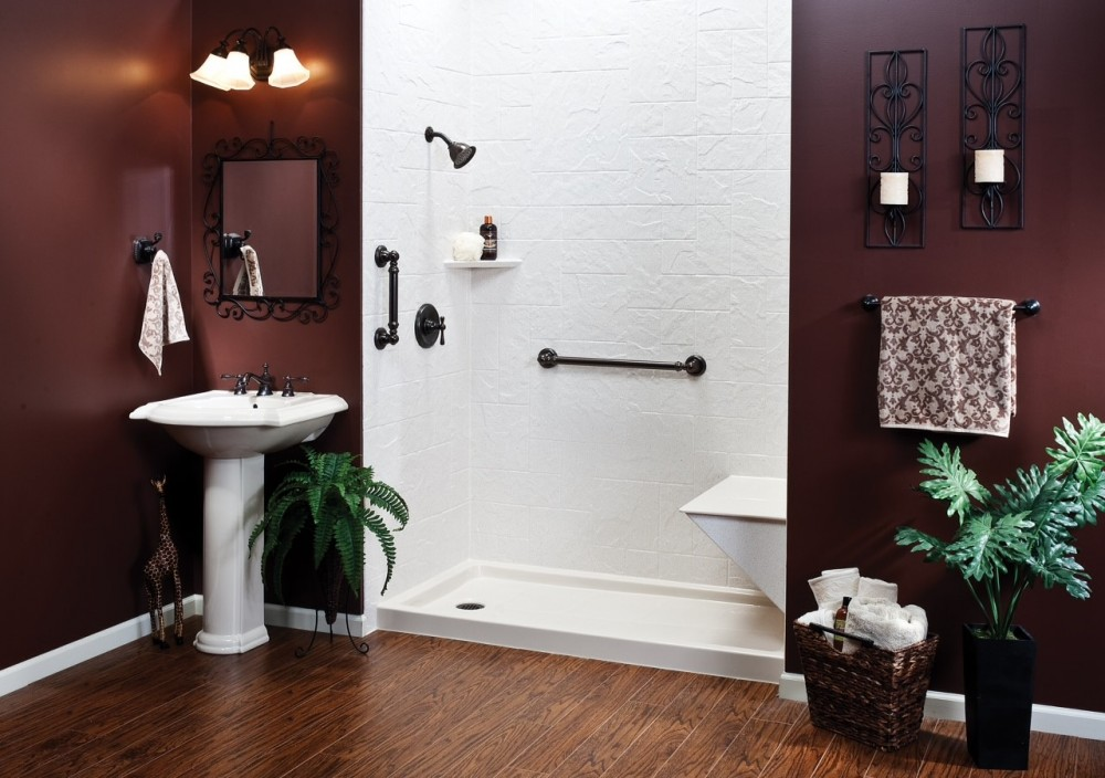 Photo By Herl's Bath & Tile Solutions. Bathroom Remodeling
