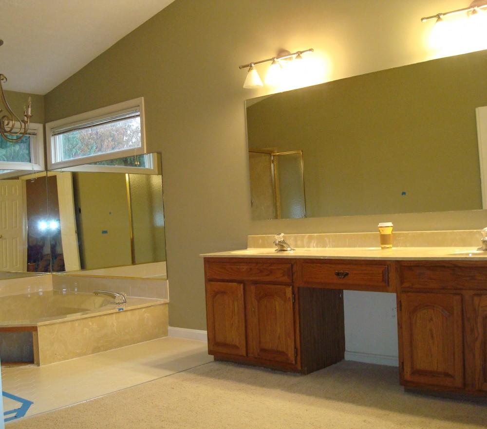Photo By Kirkpatrick's Construction. Elegant Bathroom