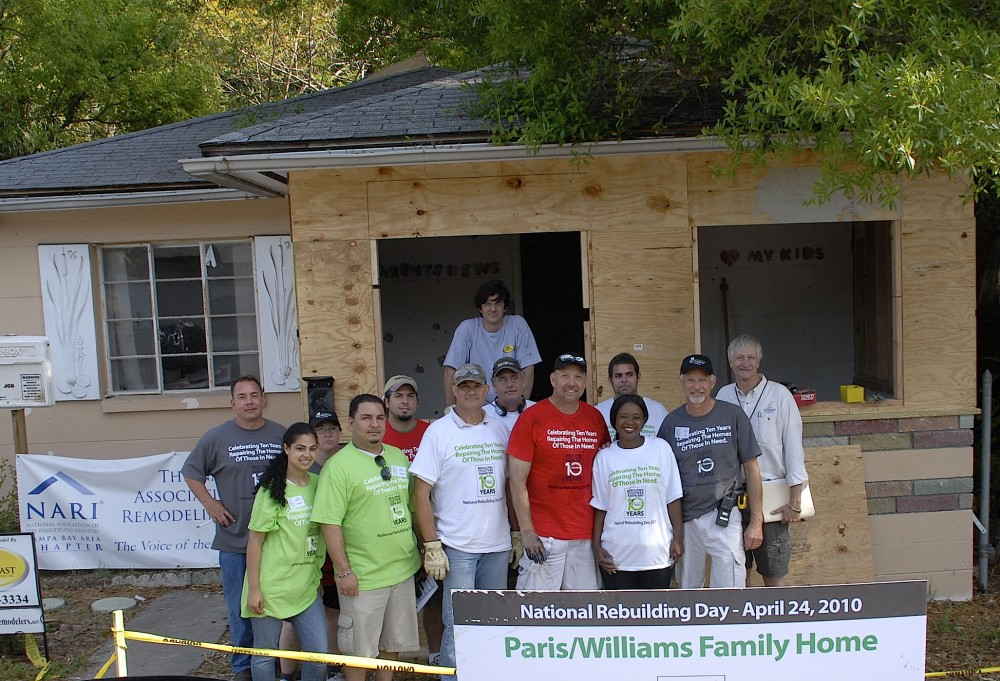 Photo By Strobel Design Build. Rebuilding Together Tampa Bay